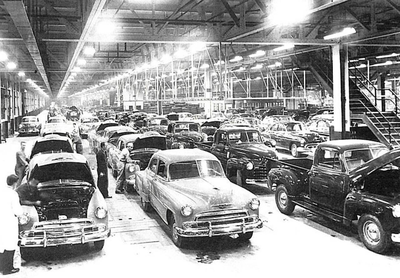 Primeiras décadas foram marcadas pela montagem de veículos importados desmontados dos Estados Unidos . Foto: Divulgação