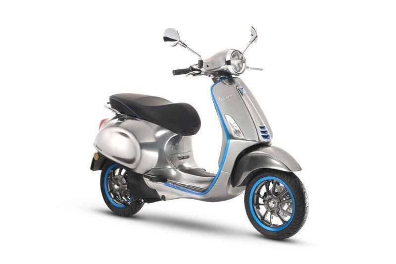 Vespa Elettrica: A motoneta conhecida mundialmente agora tem motor eletrico. Foto: Divulgação