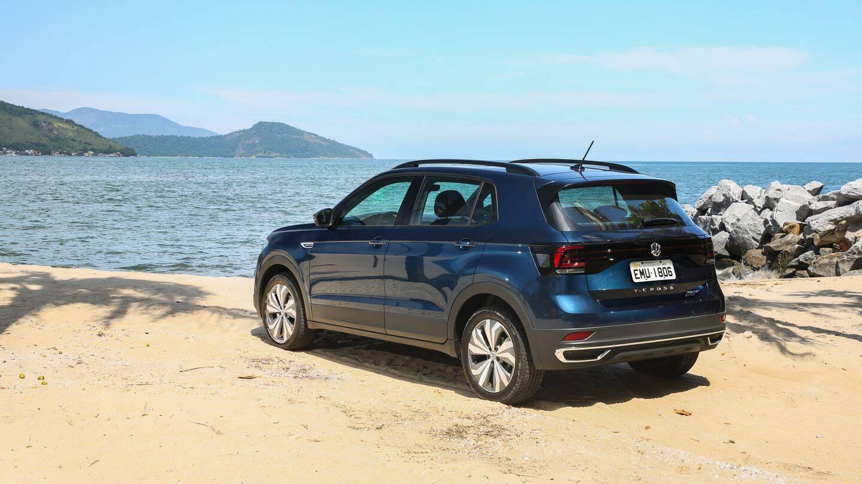 VW T-Cross Comfortline. Foto: Divulgação