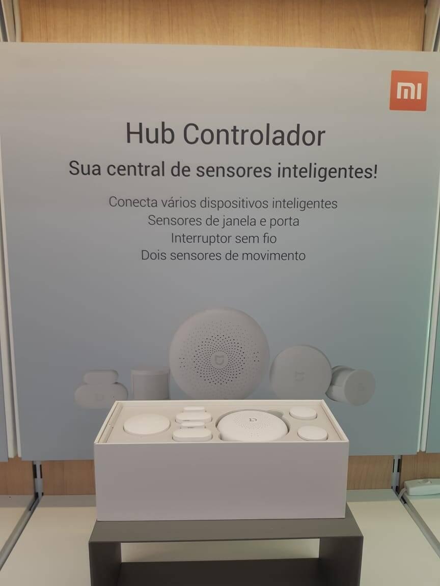 Controlador Xiaomi. Foto: Marina Teodoro/iG Tecnologia