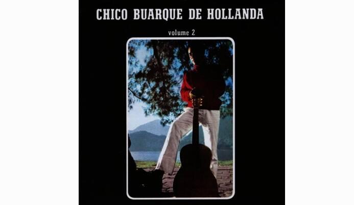 """Capa do terceiro álbum do cantor, """"Chico Buarque de Hollanda - Volume 2"""", foi lançado em 1967 e possui 12 faixas.. Foto: Reprodução/ Divulgação"""