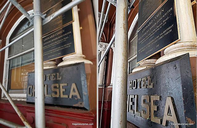 Chelsea Hotel, em Nova York. Foto: Fragatasurprise