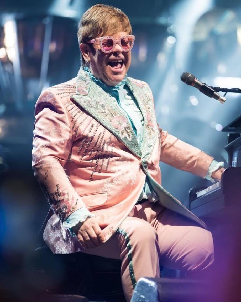 Elton John. Foto: Reprodução/Instagram