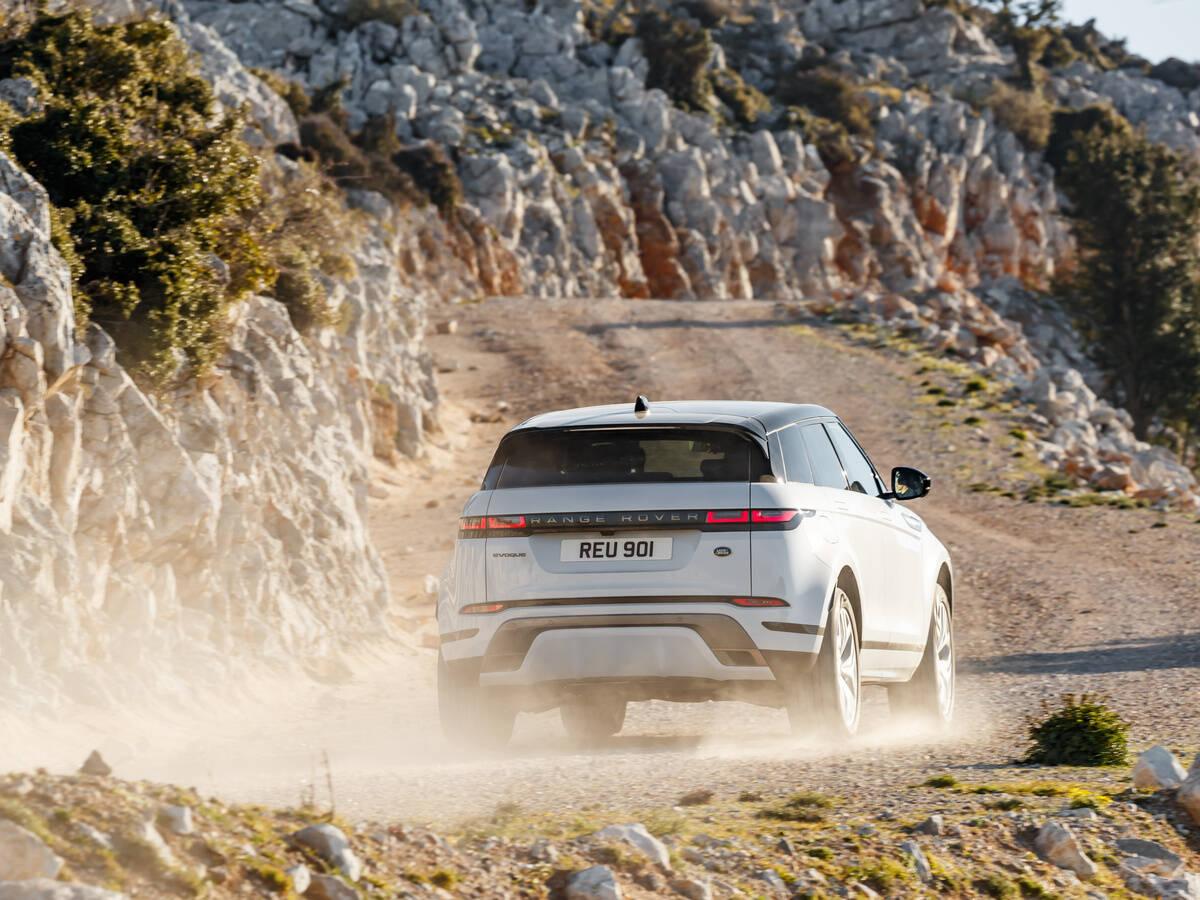 Range Rover Evoque 2021. Foto: Divulgação