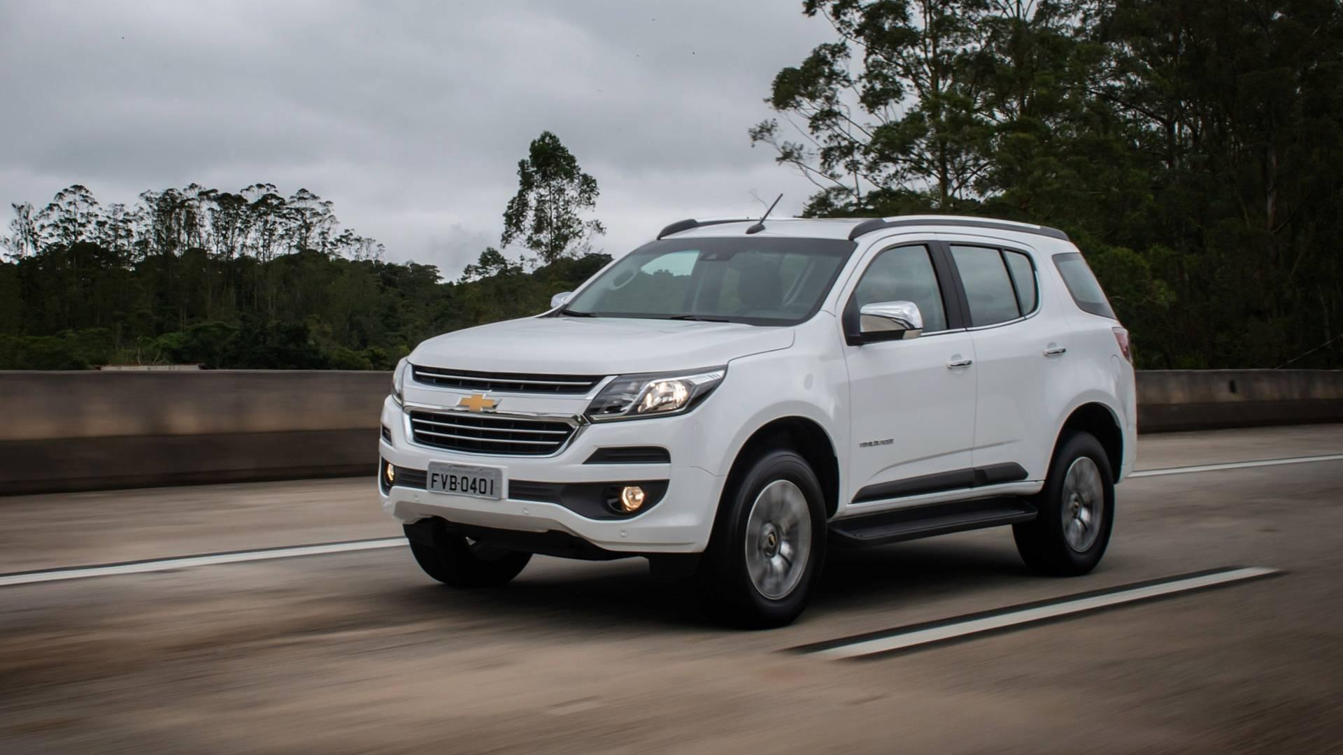 Chevrolet Trailblazer 2019. Foto: Divulgação