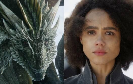 """Um assunto sempre muito comentado durante o início das emana é """"Game of Thrones"""" e no domingo (05) a repercussão ficou por conta da morte de Missandei e do dragão Rhaegal. Foto: Reprodução"""
