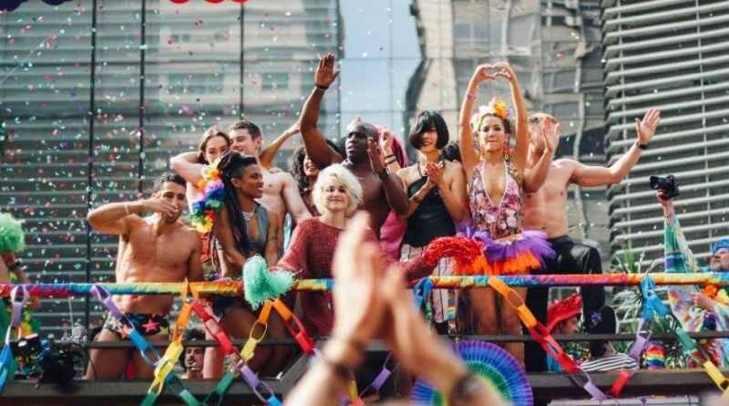 A Parada do Orgulho da Avenida Paulista é considerada a maior do mundo. Foto: Reprodução