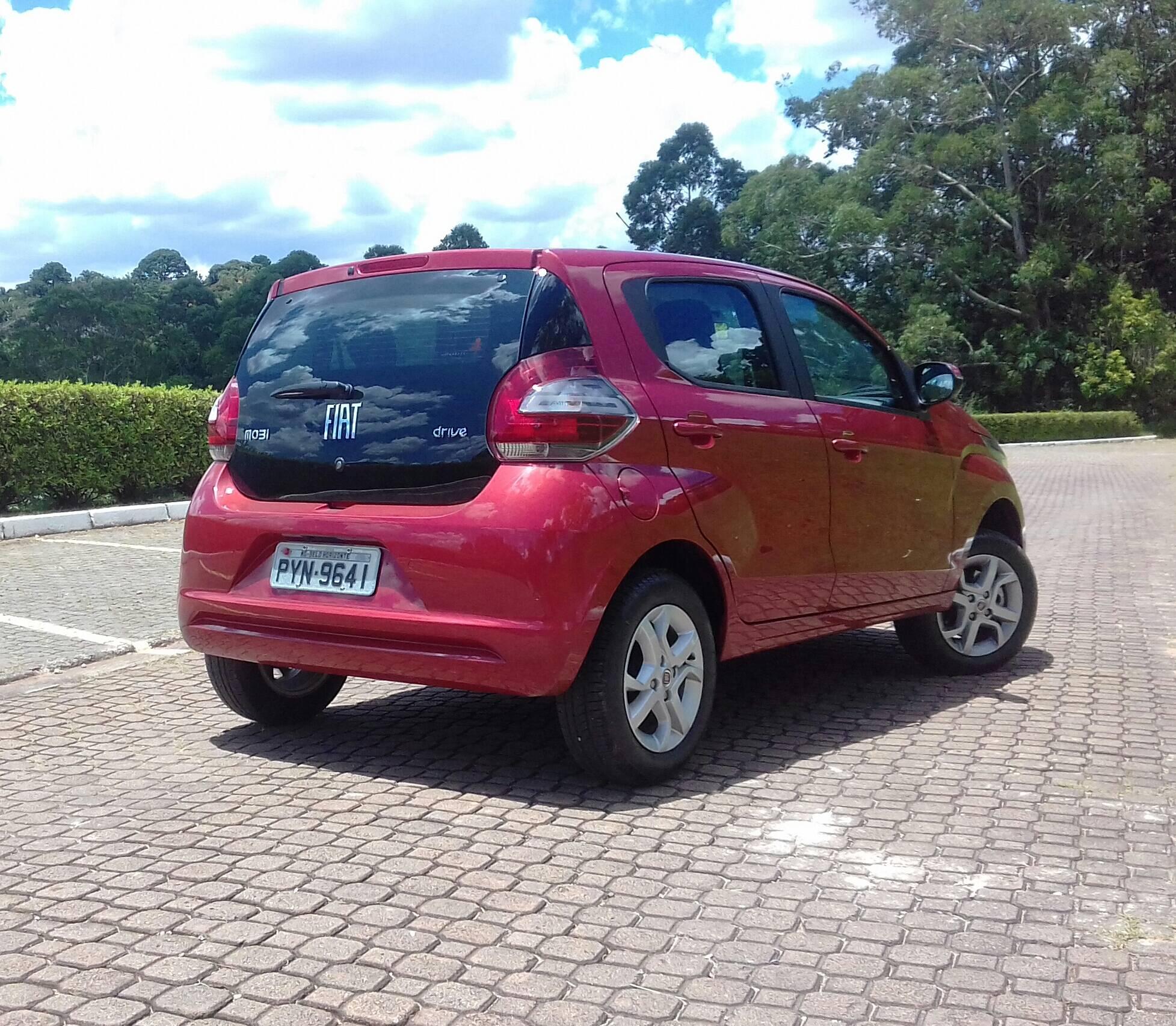 Fiat Mobi Drive. Foto: Divulgação