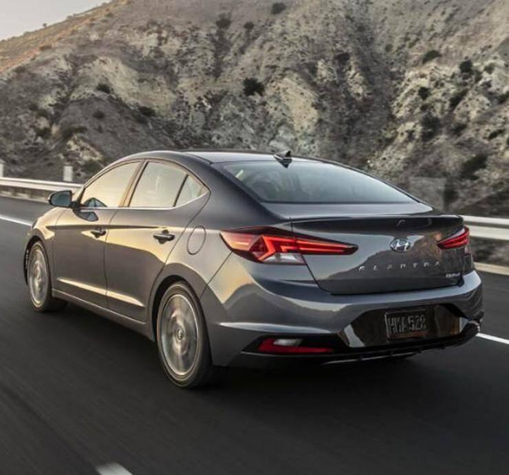 Hyundai Elantra 2019. Foto: Divulgação