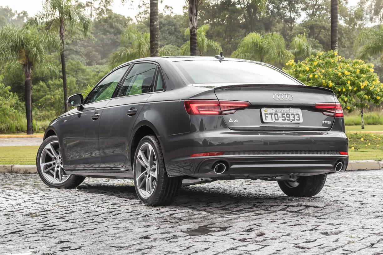 Audi A4 Limited Edition. Foto: Divulgação