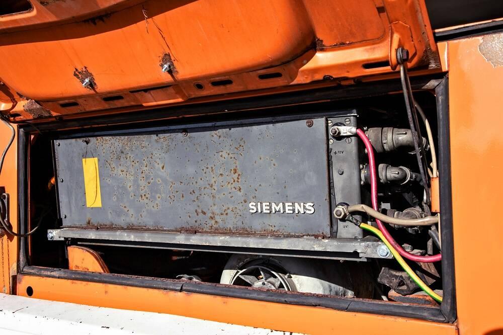 Primeira Kombi elétrica Elektrotransporter de 1978 será restaurada e incluída no acervo da Volkswagen.. Foto: Divulgação