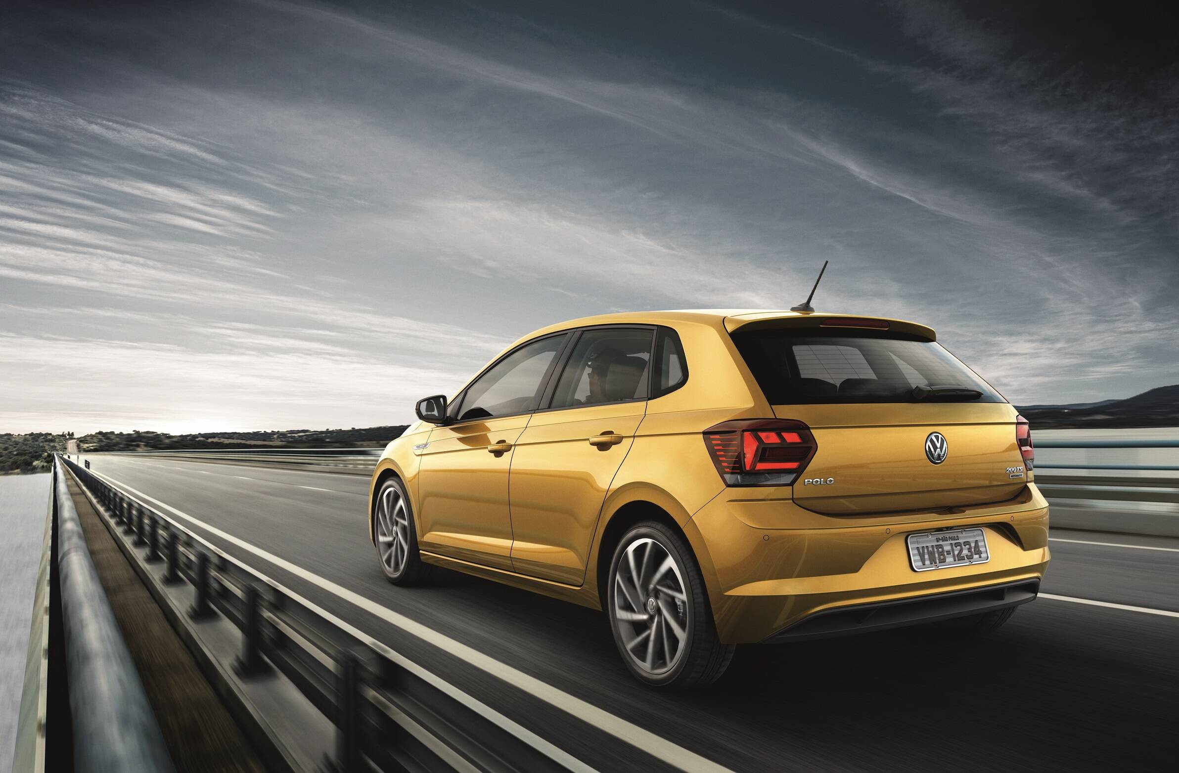 Volkswagen Polo. Foto: Divulgação
