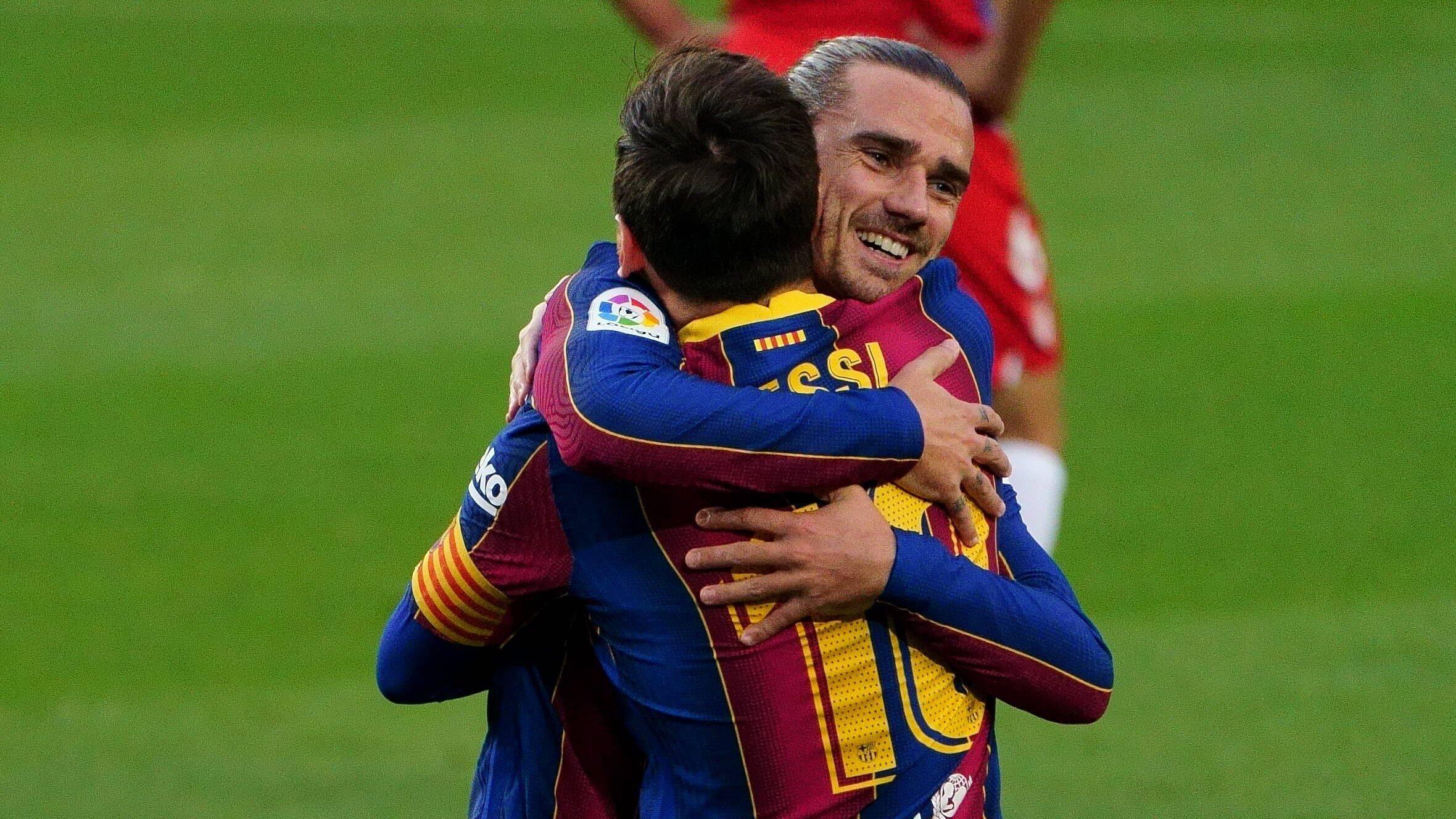 Barcelona x Granada. Foto: Reprodução / Twitter La Liga