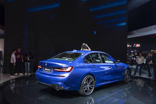 BMW no Salão do Automóvel 2018. Foto: Divulgação