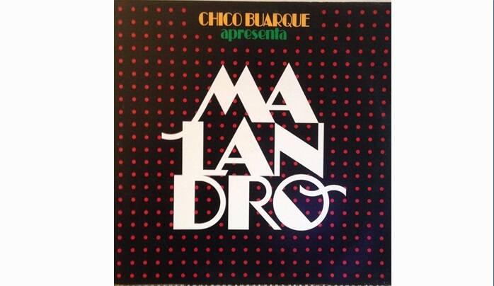 """Capa de """"Malandro"""", lançado em 1985.. Foto: Reprodução/ Divulgação"""