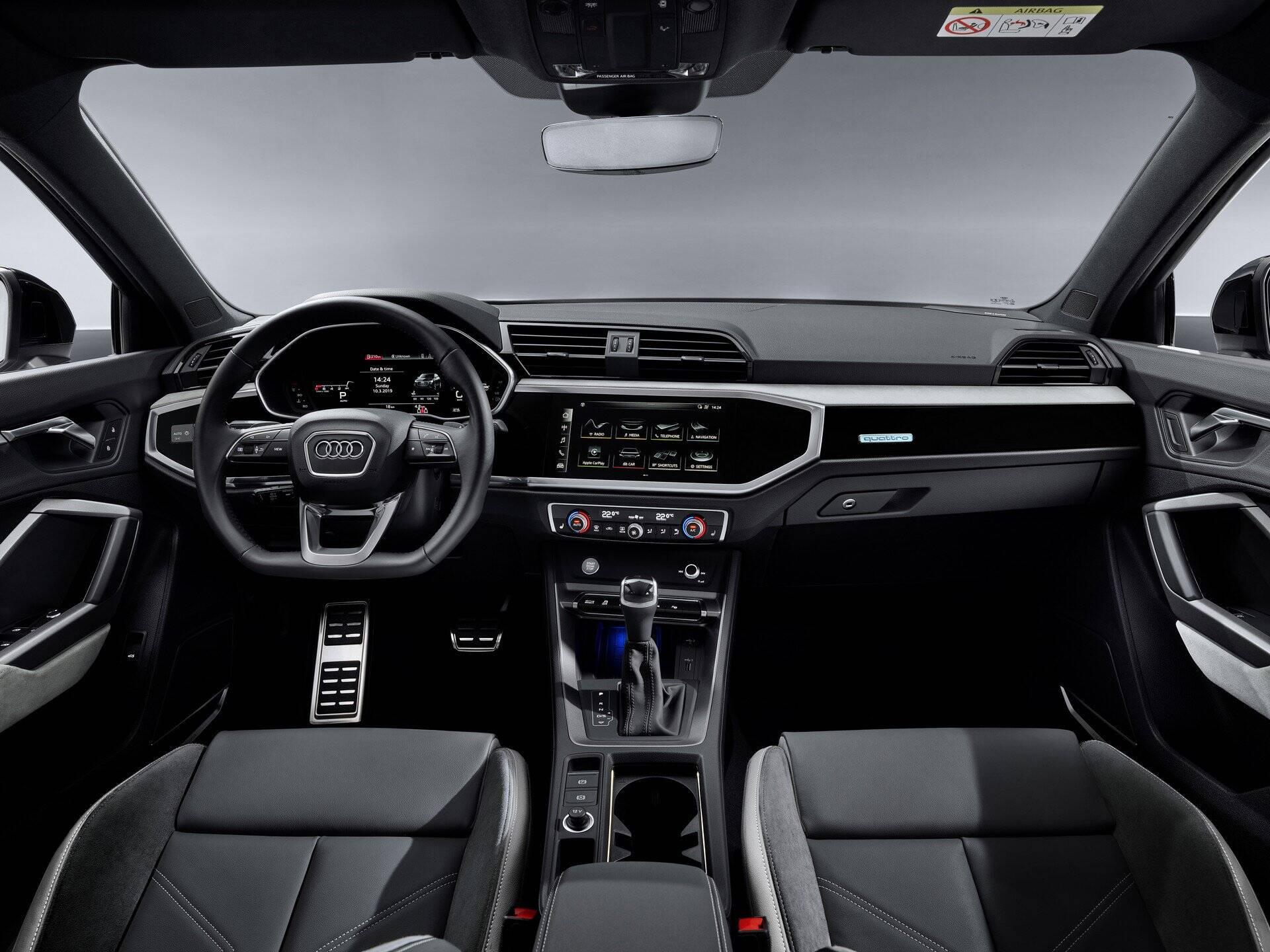 Audi Q3 Sportback. Foto: Divulgação