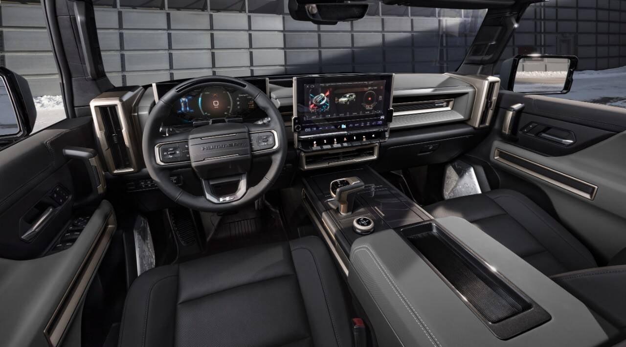Hummer EV SUV. Foto: Divulgação