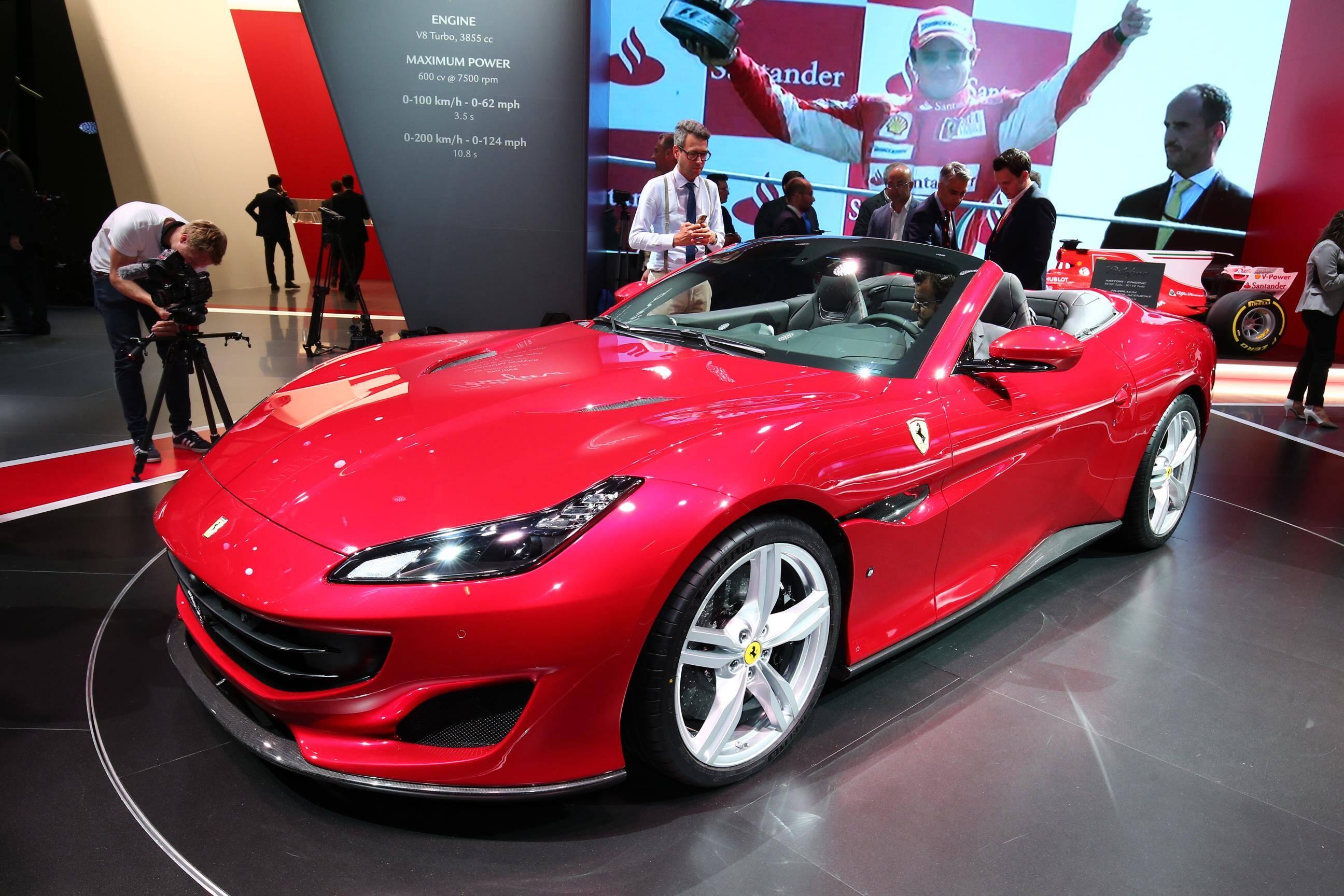 Ferrari Portofino. Foto: Newspress/Divulgação