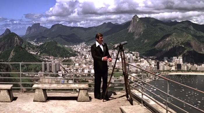 """O Rio de Janeiro foi alvo de investigações do agente James Bond (Roger Moore) em 1979, em """"007 Contra o Foguete da Morte"""". Foto: Reprodução"""