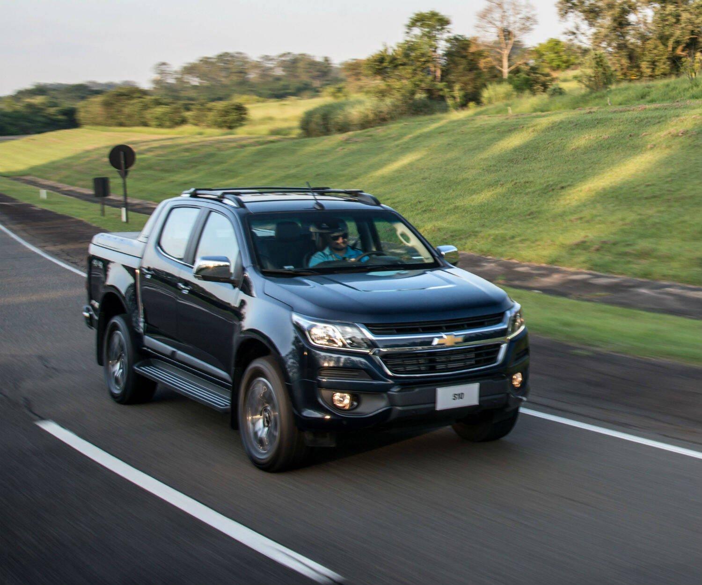 Chevrolet S10. Foto: Divulgação/General Motors