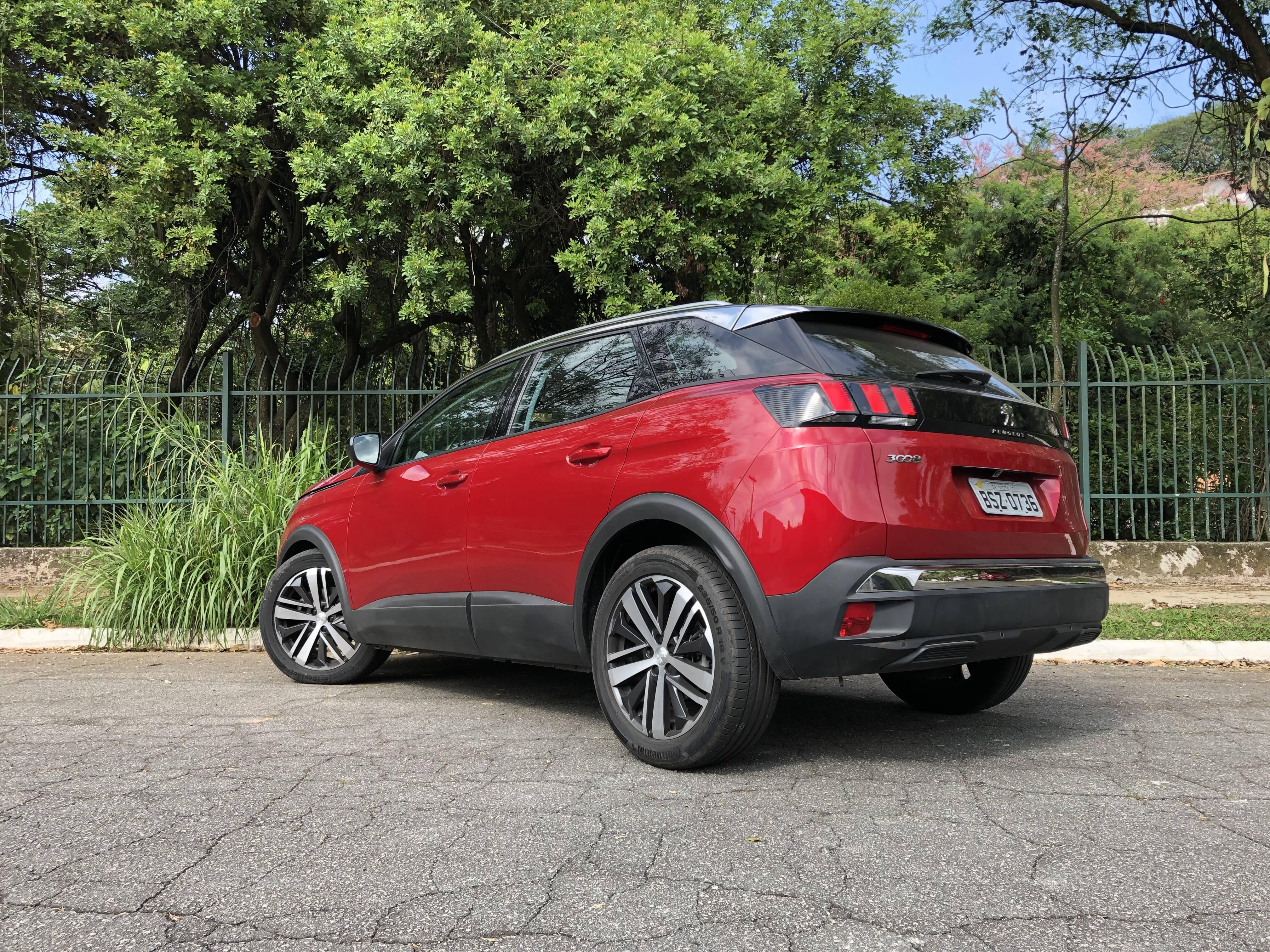 Peugeot 3008. Foto: Cauê Lira/iG Carros