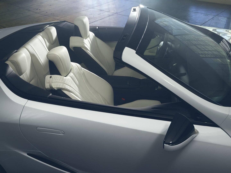 Lexus LC Convertible. Foto: Divulgação
