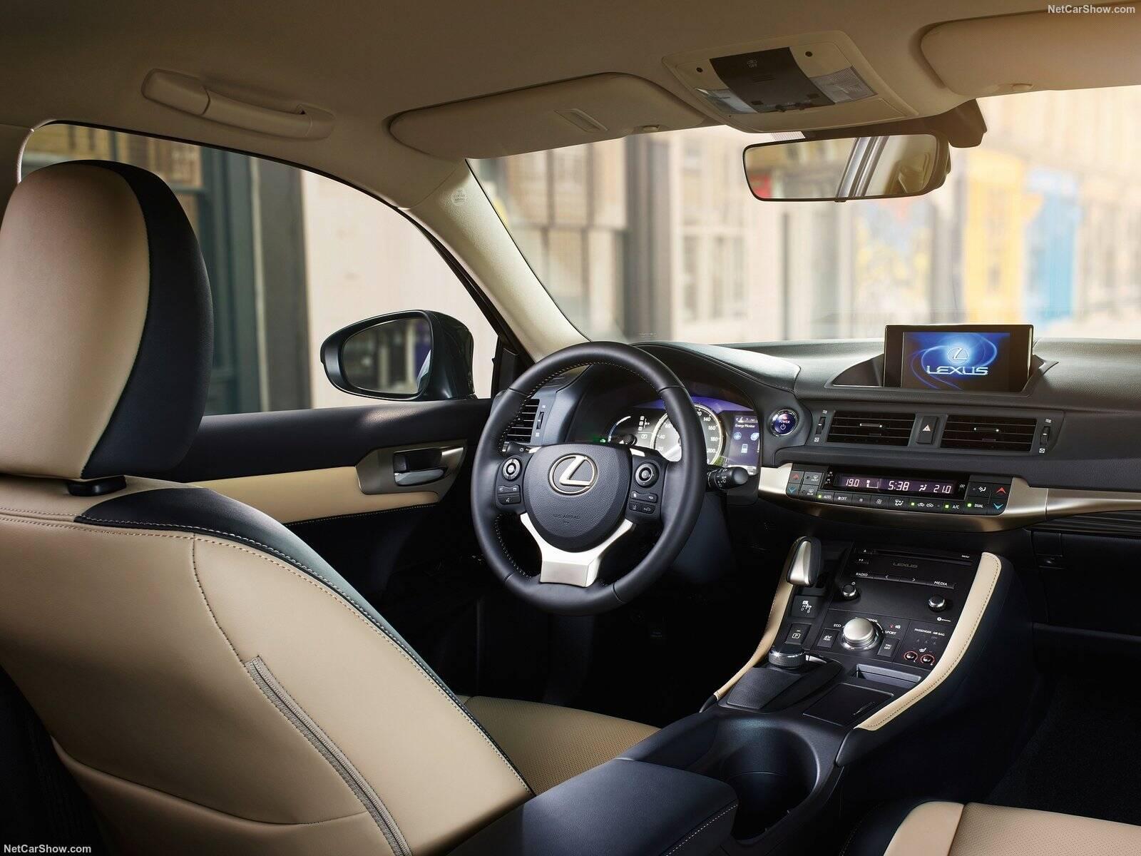 Lexus CT 200 h. Foto: Divulgação