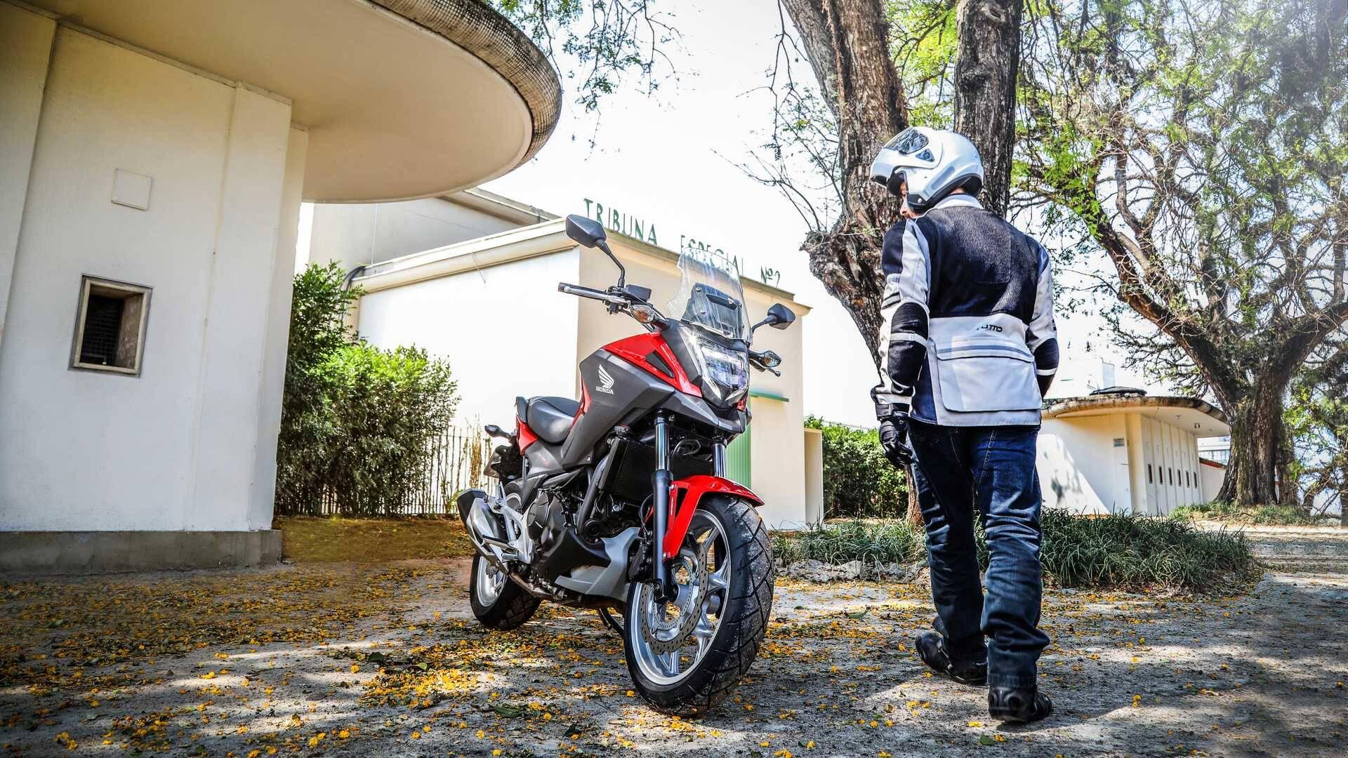 Honda NC 750X. Foto: Divulgação