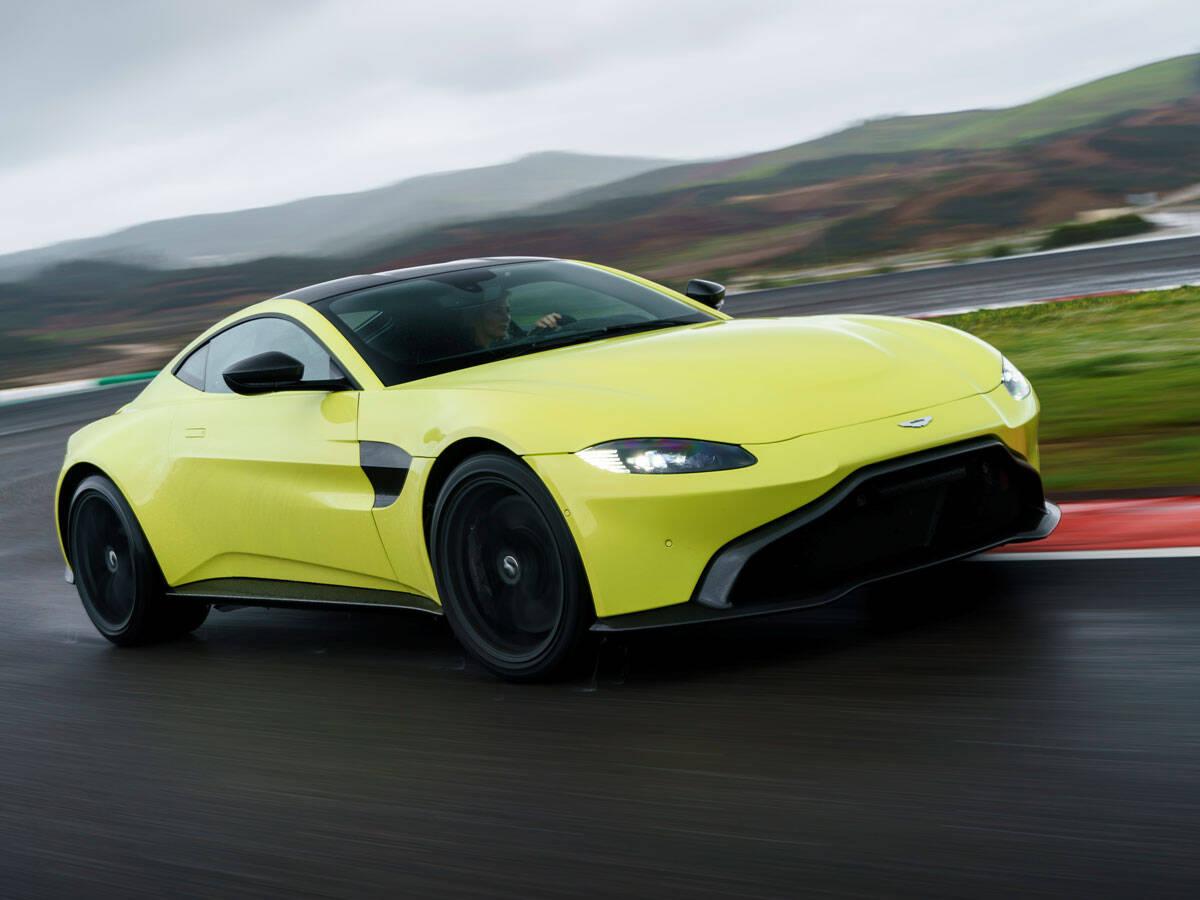 Aston Martin vantage. Foto: Divulgação