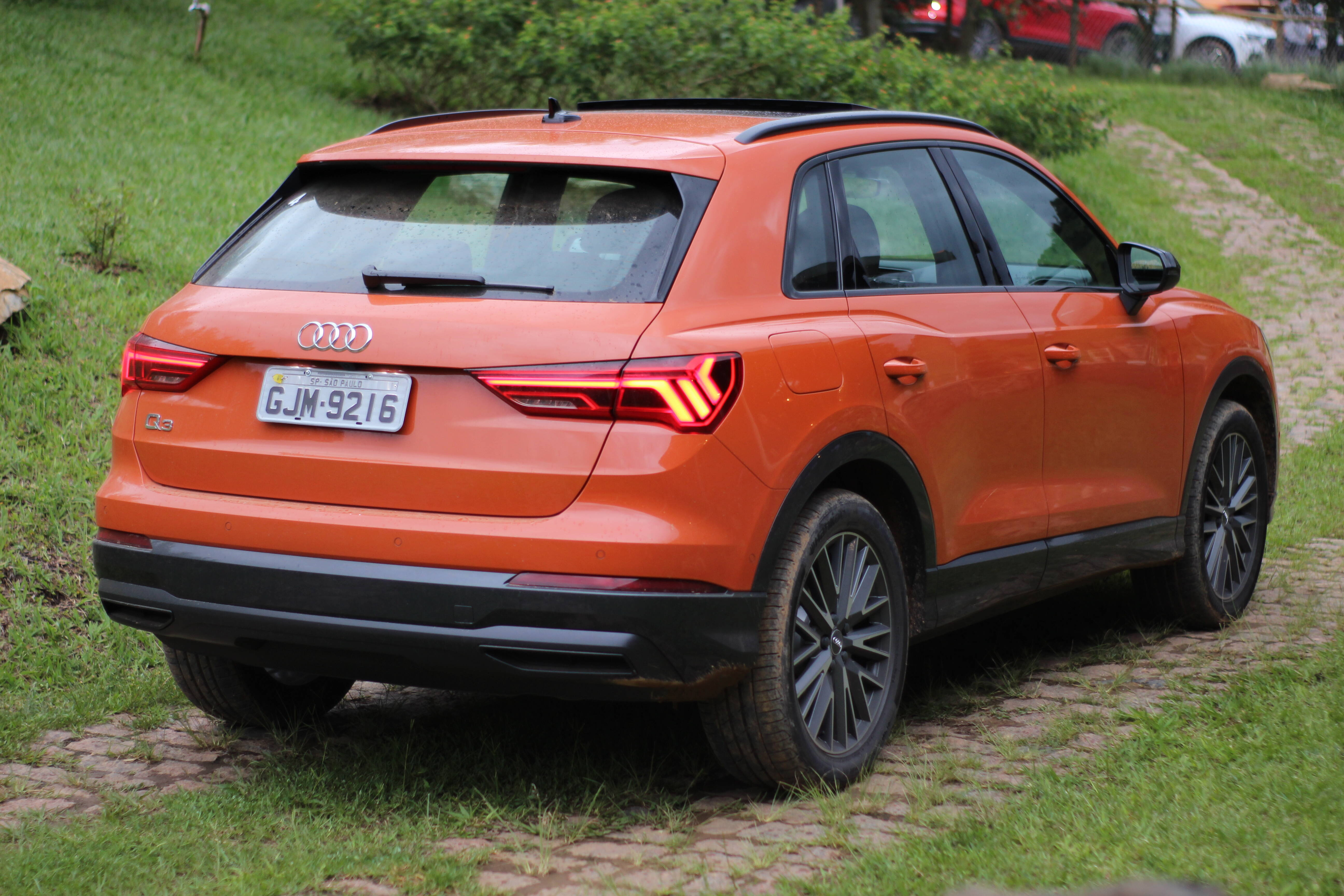 Audi Q3. Foto: Cauê Lira/iG Carros