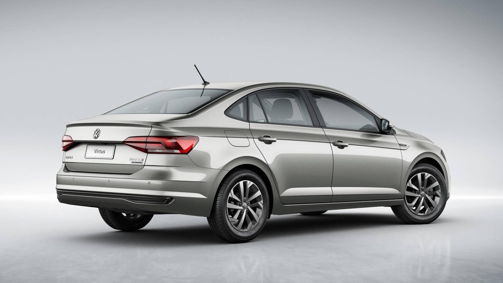 Volkswagen Virtus. Foto: Divulgação