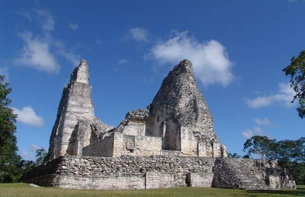 Ruínas Calakmul, no México. Foto: Reprodução