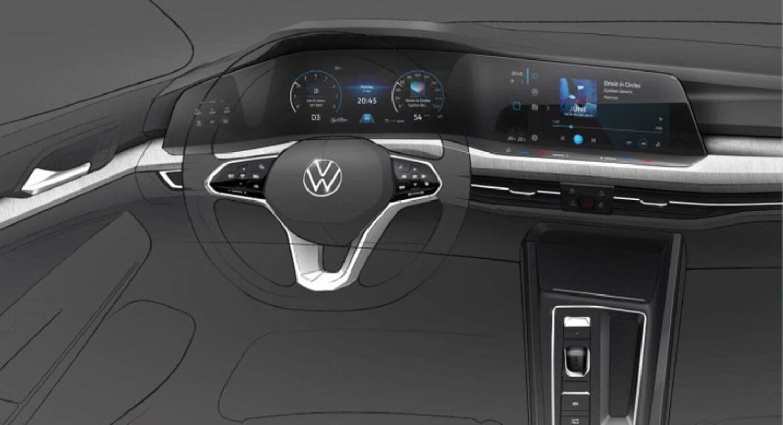 Nova geração do VW Golf. Foto: Divulgação