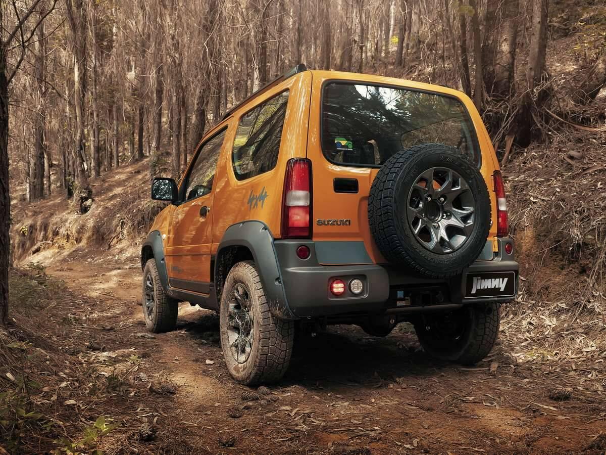 Suzuki Jimny 4Sport. Foto: Divulgação