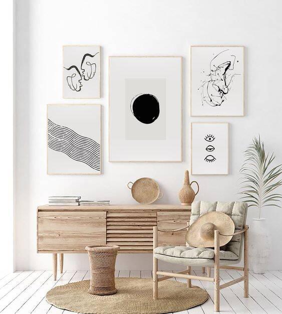 """A decoração Japandi sintetiza a frase """"menos é mais"""". Foto: Pinterest/Studio Callo"""
