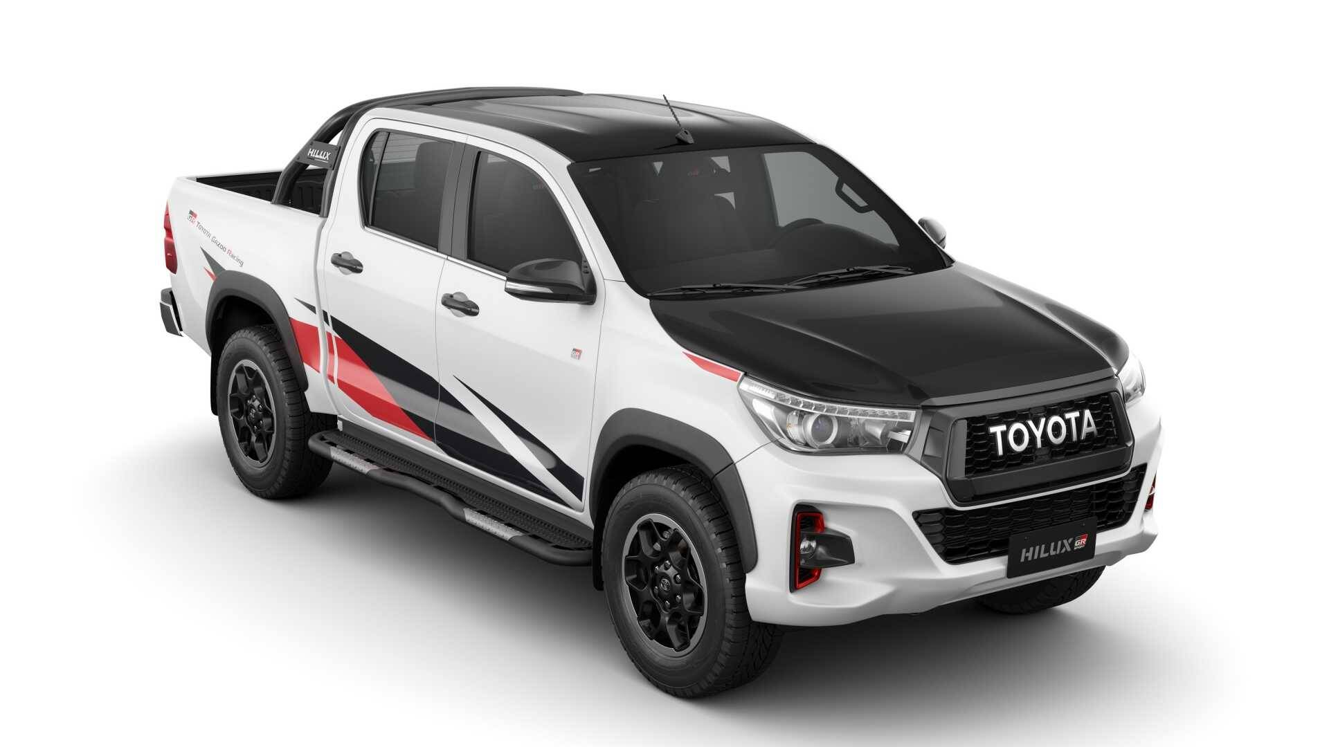Toyota Hilux GR Sport. Foto: Divulgação