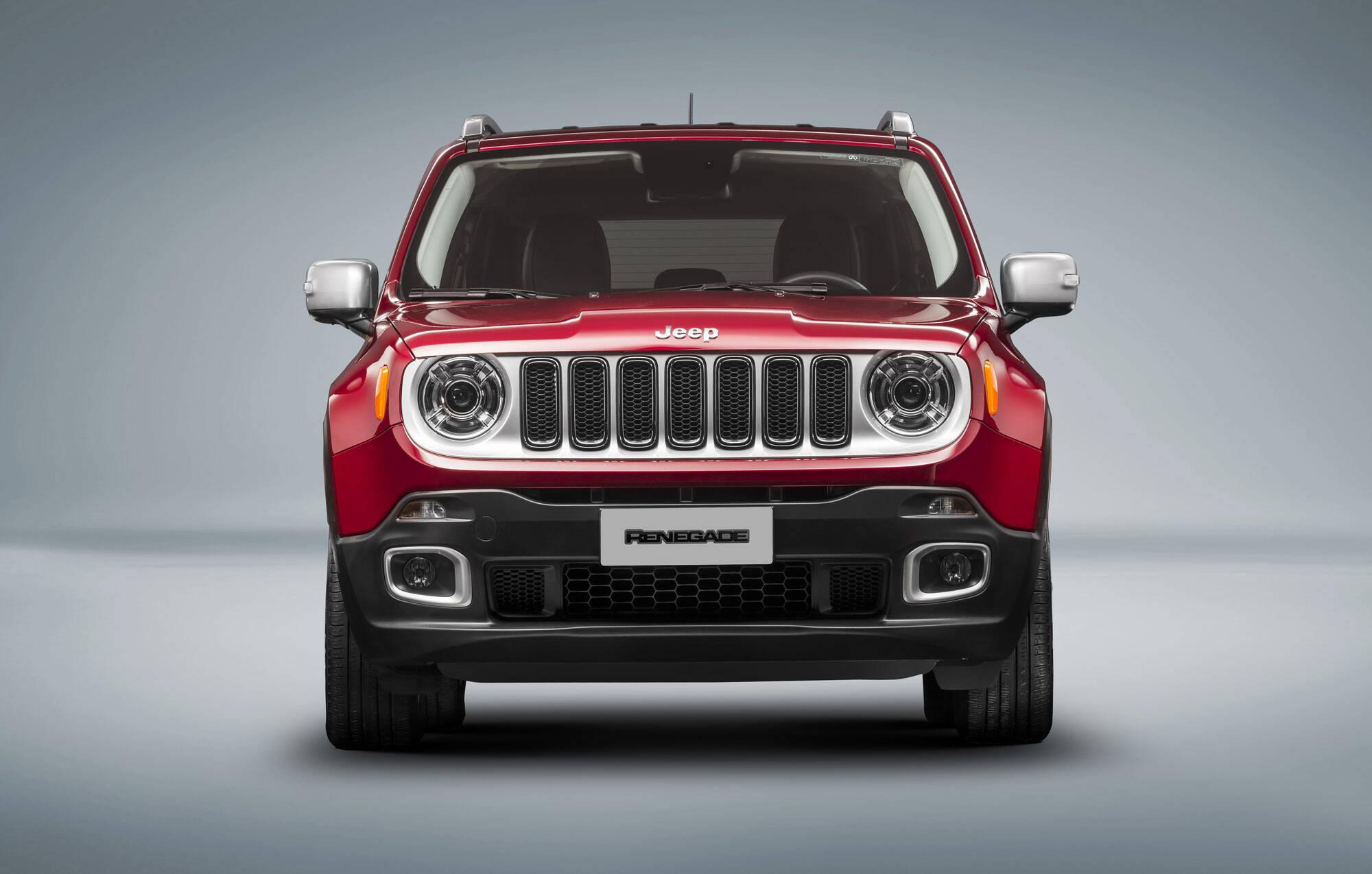 Jeep Renegade 2017. Foto: Divulgação/Fiat-Chrysler