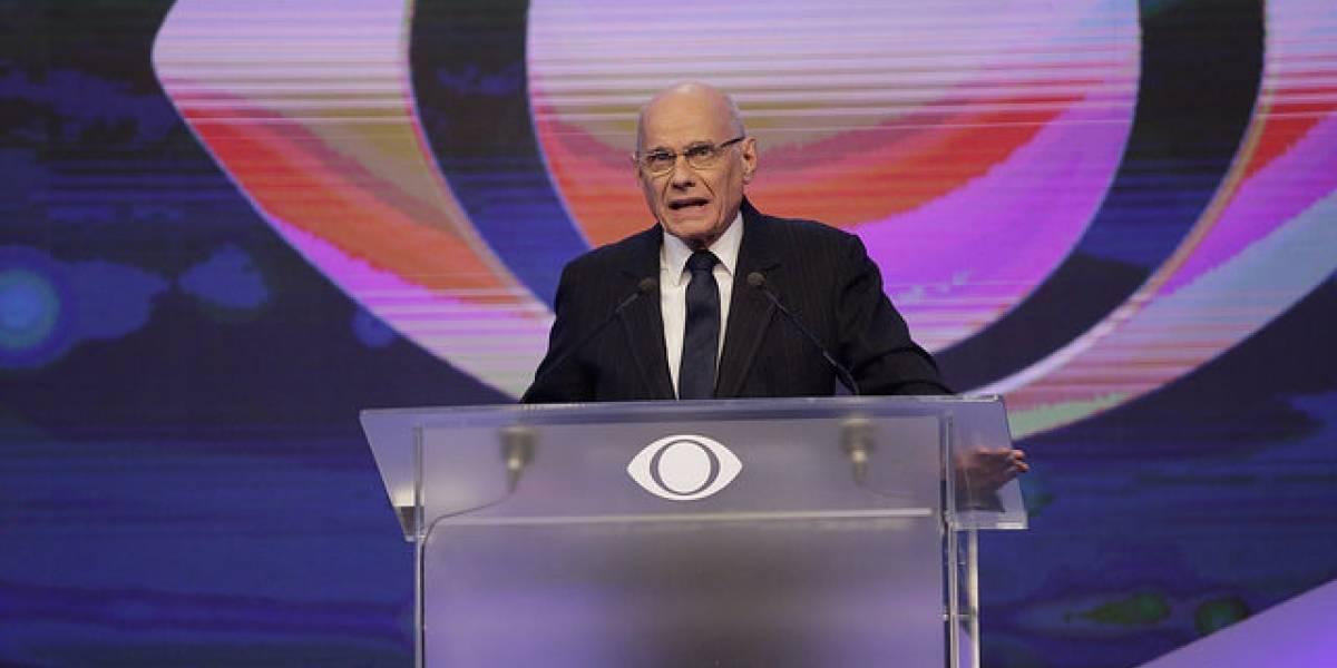 Ricardo Boechat no Debate Eleitoral de 2014. Foto: Reprodução / TV Band / Instagram