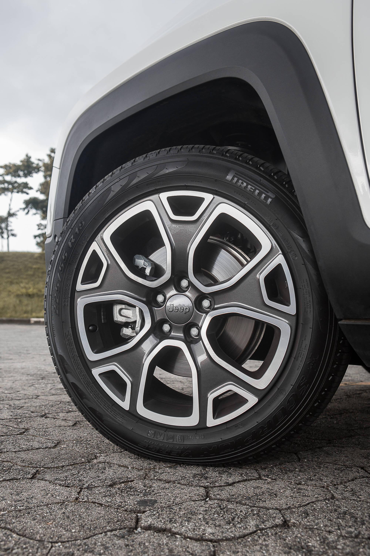 Design das rodas são modernos e agressivos. Foto: Divulgação