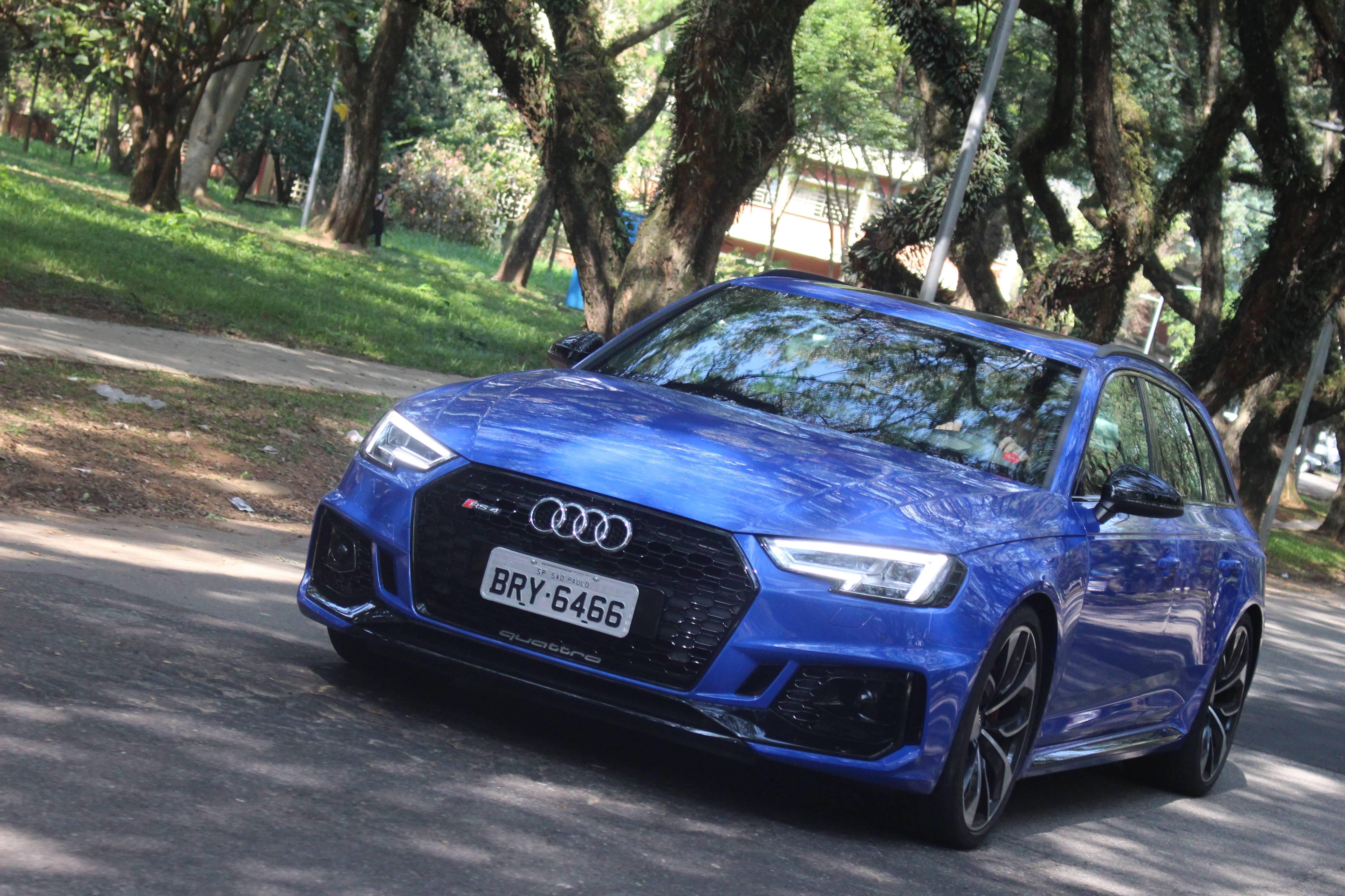Audi RS4 Avant. Foto: Cauê Lira/iG Carros