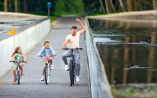 Ciclovia belga já foi considerada um dos 100 melhores lugares do mundo pela revista Time. Foto: Luc Dalemans/BYCS