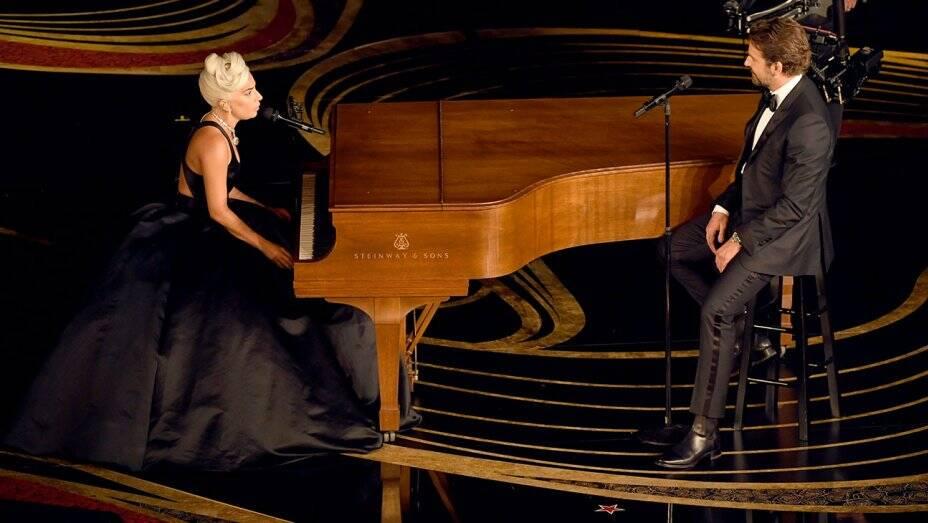 Bradley Cooper e Lady Gaga se apresentam no Oscar 2019. Foto: Reprodução/Instagram