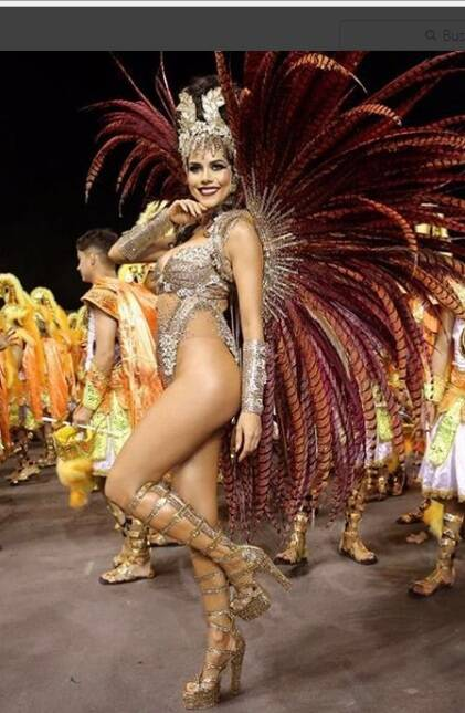 Daniela Albuquerque curtindo o carnaval na última sexta (09). Foto: Reprodução/Instagram