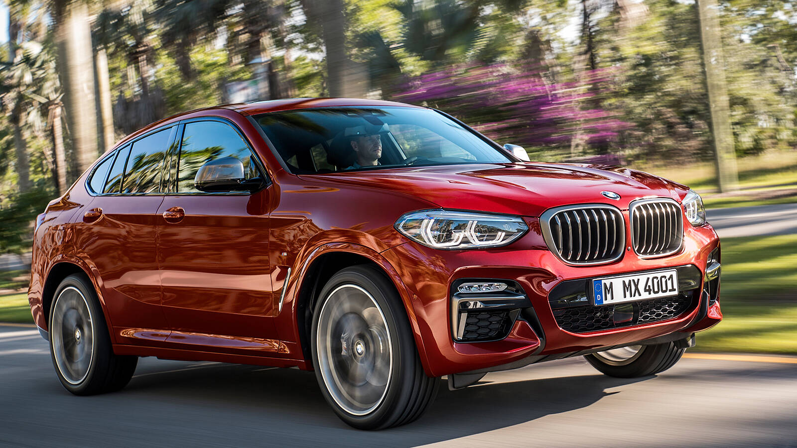 BMW X4. Foto: Divulgação