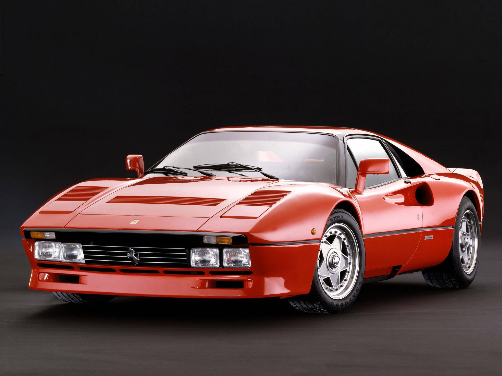 Ferrari 288 GTO. Foto: Divulgação