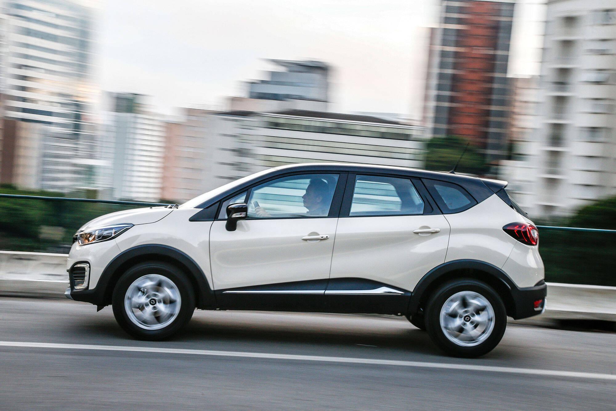 Renault Captur. Foto: divulgação/Renault