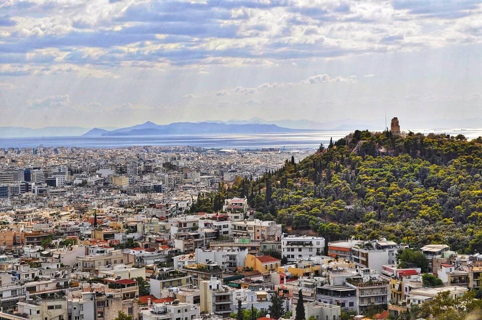 Vista da cidade a partir de Partenon. Foto: Pixabay