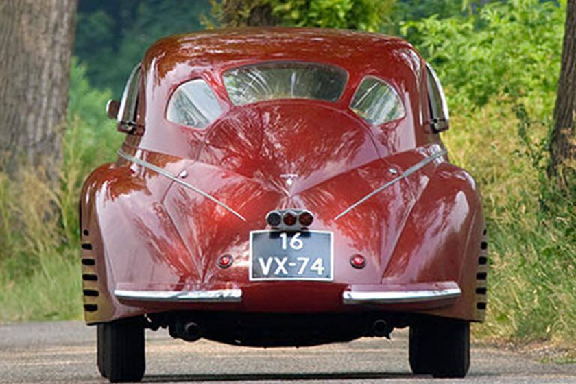 Alfa Romeo 8C 2900 B. Foto: Divulgação