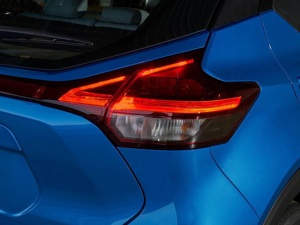 Nissan Kicks 2021 (EUA). Foto: Divulgação