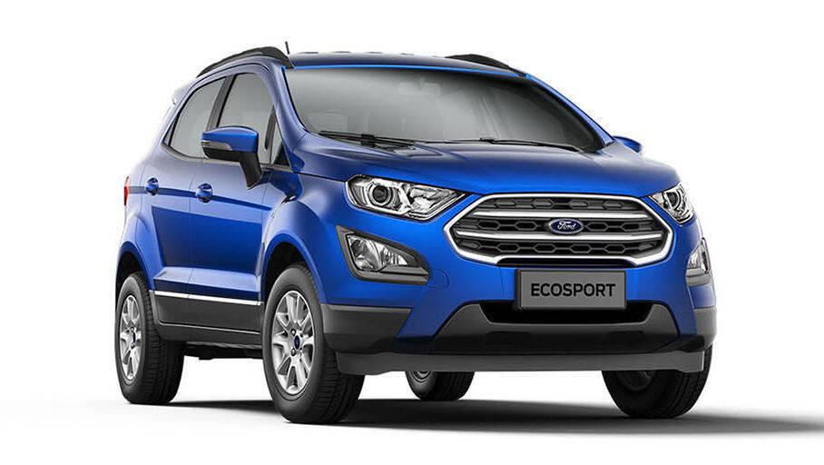 Ford EcoSport SE. Foto: Divulgação